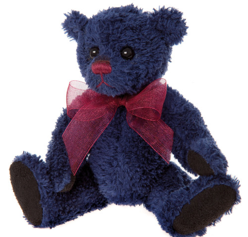 Charlie Bears Keyring Denim