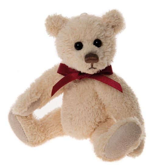 Charlie Bears Keyring Linen