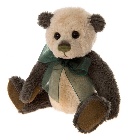 Charlie Bears Keyring Plaid