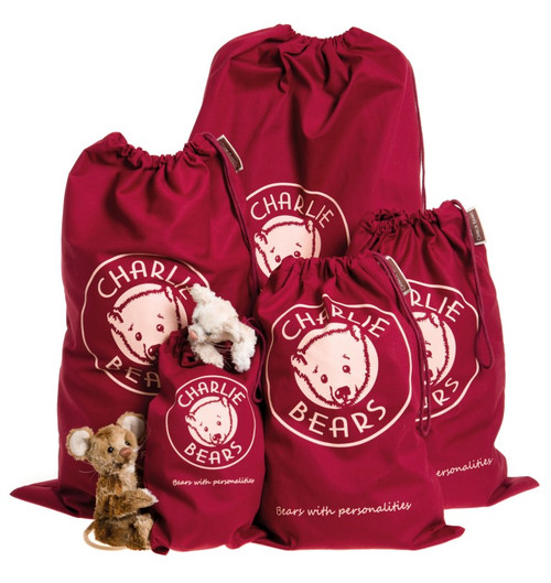 Charlie Bears Collectors Drawstring Gift Bags