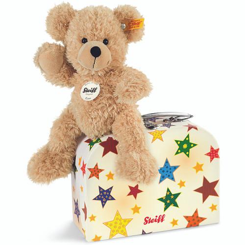Steiff Fynn Teddy Bear in a Suitcase - 111730