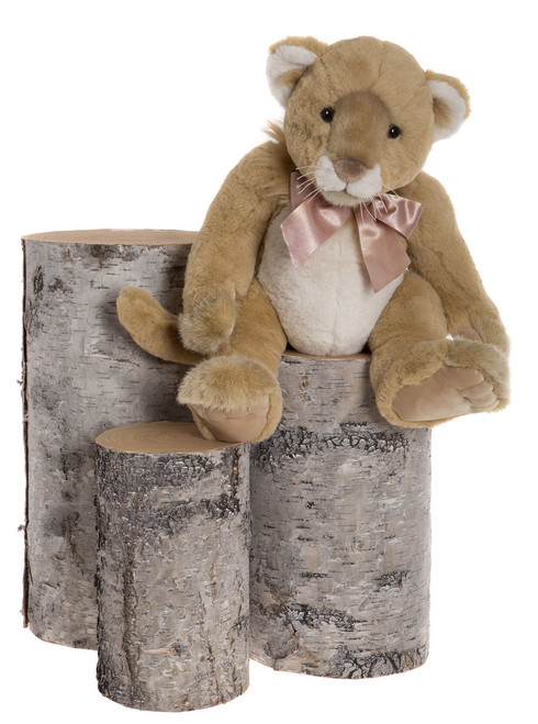 Charlie Bears Bearhouse Bear Safari Lioness - BB173091