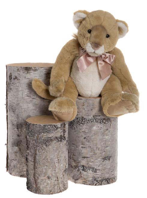 Charlie Bears Bearhouse Bear Safari Lioness - BB173091