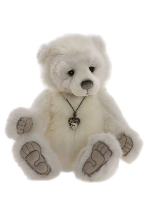 Collectable Jointed Plush Teddy By Charlie Bears Cb181810 Rum Baba
