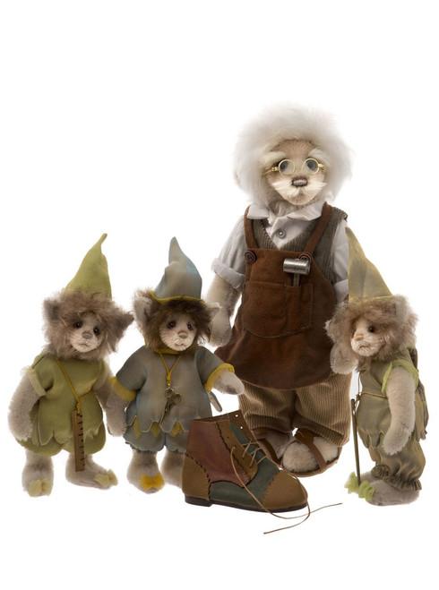 Charlie Bears Elves & The Shoemaker - SJ585859ABC