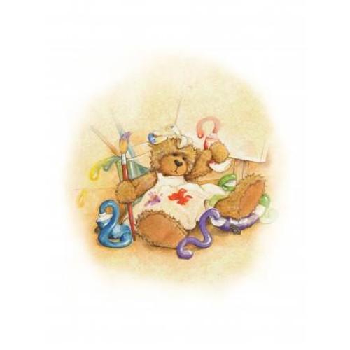Alice's Bear Shop Art Prints Sandy
