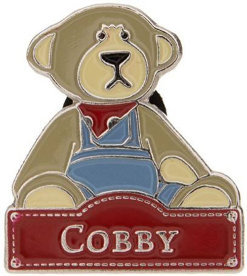 Alice's Bear Shop Pin Badges Cobby