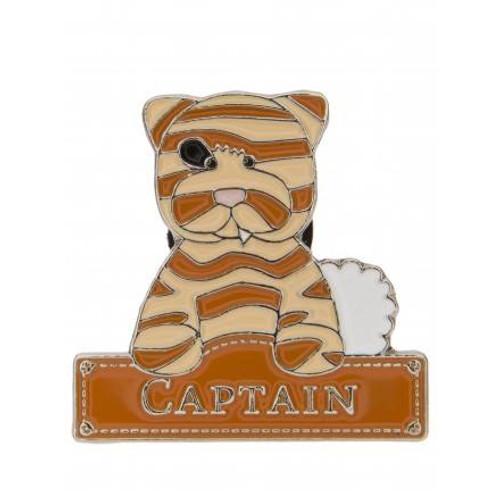Alice's Bear Shop Pin Badges Captain
