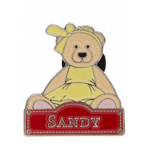 Alice's Bear Shop Pin Badges Sandy