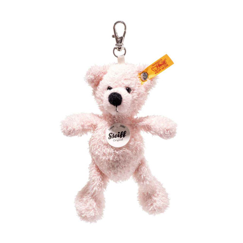 Steiff Pink Lotte Teddy Bear Keyring - 112515