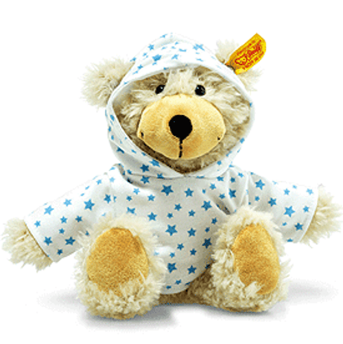 Steiff Charly Stars Dangling Teddy with Hoody - 012389