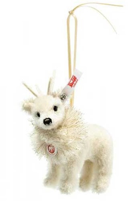 Steiff Winter Reindeer Ornament - 006234