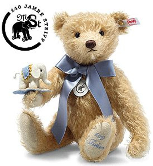 Steiff Limited Edition Teddy Bear with Little Felt Elephant - 006166