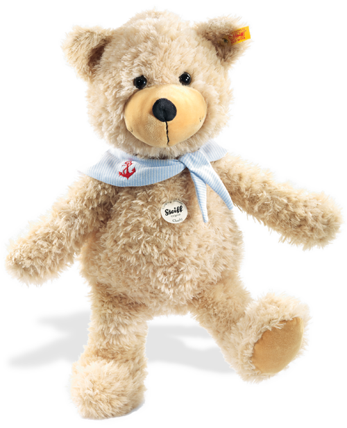 Steiff Charly dangling Teddy bear with bandana - 012532