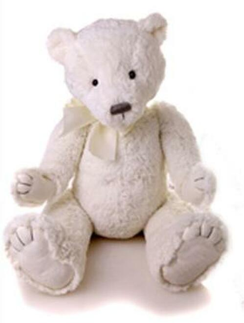 My First Charlie Bear White