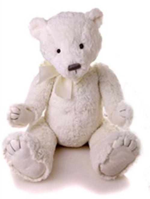 My First Charlie Bear White