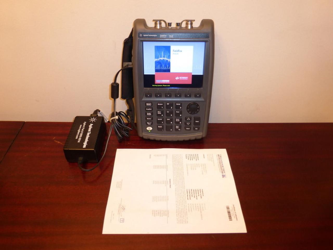 Agilent N9914A 30 kHz to 6 5 GHz FieldFox RF Vector Network / Spectrum  Analyzer