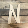 Watermelon Font, Wooden Letters Unfinished MDF, Paint-able DIY Craft