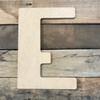 Our mdf craft wooden letters are made out of high density wood.