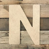 Wooden name letters come as sturdy wooden script letters.