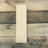 It is very easy to distress wooden letters from Build-A-Cross.