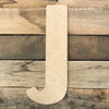 Large wooden numbers and letters are cut out of MDF.