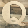 These Q letters are not stand up letters but are small decorative letters.