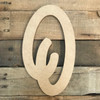 Small Unfinished wood letters come as small wooden letters and numbers.