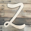 Alphabet letters in wood are purchased as large wooden letters 24 inch.