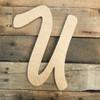 Large unpainted wooden letters are paintable big wooden alphabet letters.