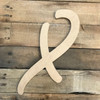Our Black wooden letters for decorating are purchased as giant wooden letters.