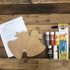 Christmas Bell Paint Kit, Video Tutorial and Instructions