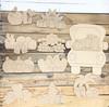 Seasonal Truck Set Wood Cutout, Unfinished Shape, Paint by Line