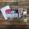 Valentine Heart Truck, Paint Kit, Video Tutorial and Instructions