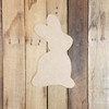 Easter Peeps Bunny Wooden Shape, Paintable Wooden MDF