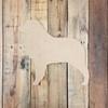 Custom Dog Unfinished Wood Craft Shape