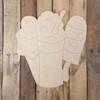 Summer Sweet Cold Treats, Wood Cutout, Shape Paint by Line