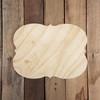 Pine Unfinished Wooden Jennifer Plaque Paint-able Craft Shape