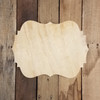 Pine Unfinished Wooden Cleopatra Plaque Paint-able Craft Shape