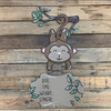 Monkey Hospital Plaque, Baby Announcement, Paint by Line