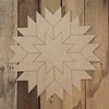 Star Burst Geometric Art, Unfinished Wood Craft Shape, Paint By Line