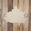 Fall Leaf Cluster, Unfinished Decor Shape, Paint by Line