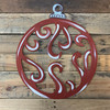 Ornament With Swirls Unfinished Cutout, Wooden Shape MDF