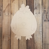 Easter Baby Chick Cutout, Unfinished Decor DIY Paint by Line