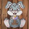 Easter Bunny Interchangeable Kit Bunny with Basket Finished
