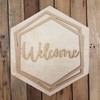 Boho Name Kit Welcome Sign Unfinished