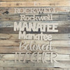 Custom Word, Unfinished Word, Wooden Unpainted Cutout