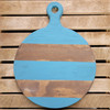 Pine Circle Charcuterie Bread Board, Unfinished Wood Craft Shape