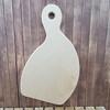 Irregular Shape Bread Board, Unfinished Wood Design