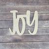 "14"" Joy Wood Slice Stacked Décor Kit, Unfinished 3 Piece Set"